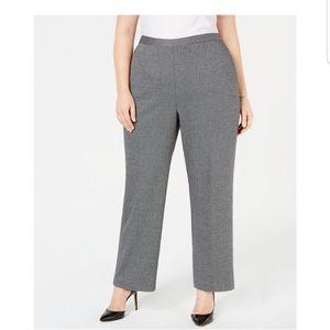 NWT Alfred Dunner Women's herringbone dress pants